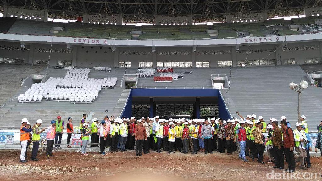 JK Tinjau Sejumlah Venue Asian Games 2018