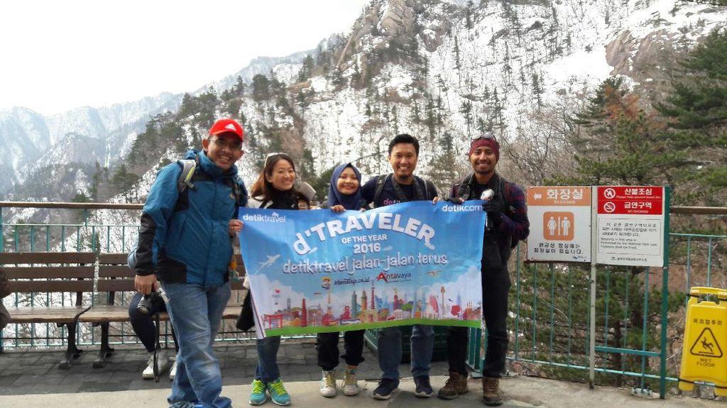Mau ke Puncak Gunung Bersalju di Korea, Naik Kereta Gantung Saja