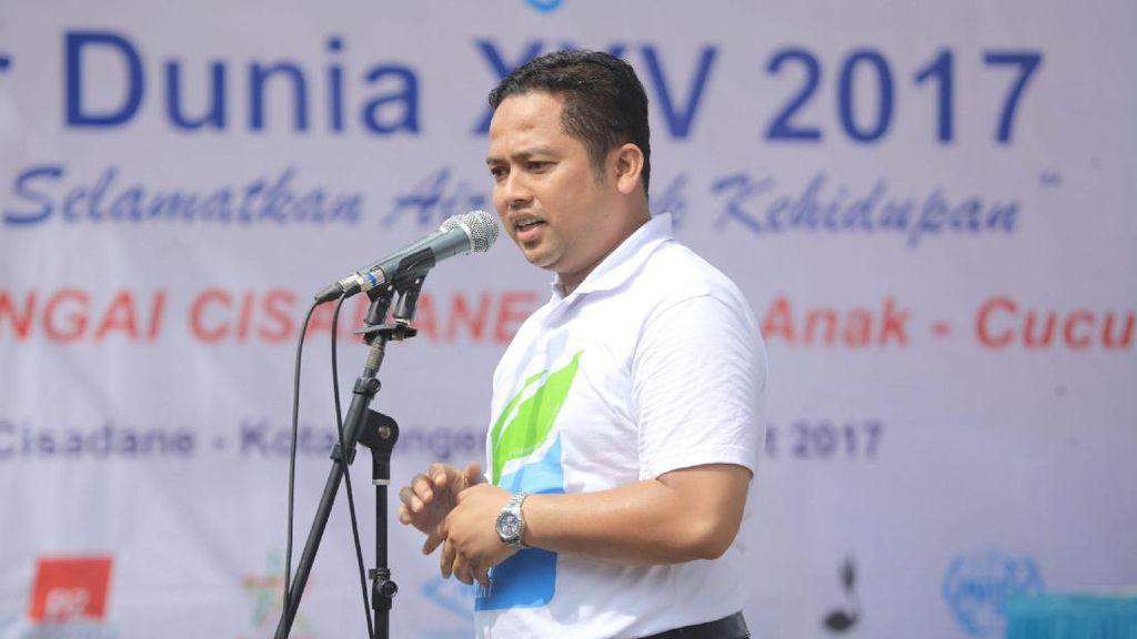 Hari Air, Warga Kota Tangerang Diimbau Tak Buang Sampah ke Sungai