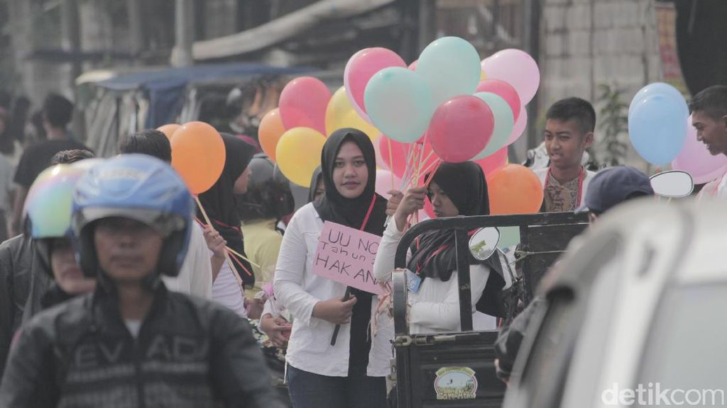 Forum Anak Baleendah Bandung Gelar Kampanye Stop Penculikan Anak