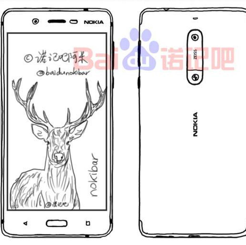 Ponsel Flagship Nokia Pakai Dua Kamera Carl Zeiss?