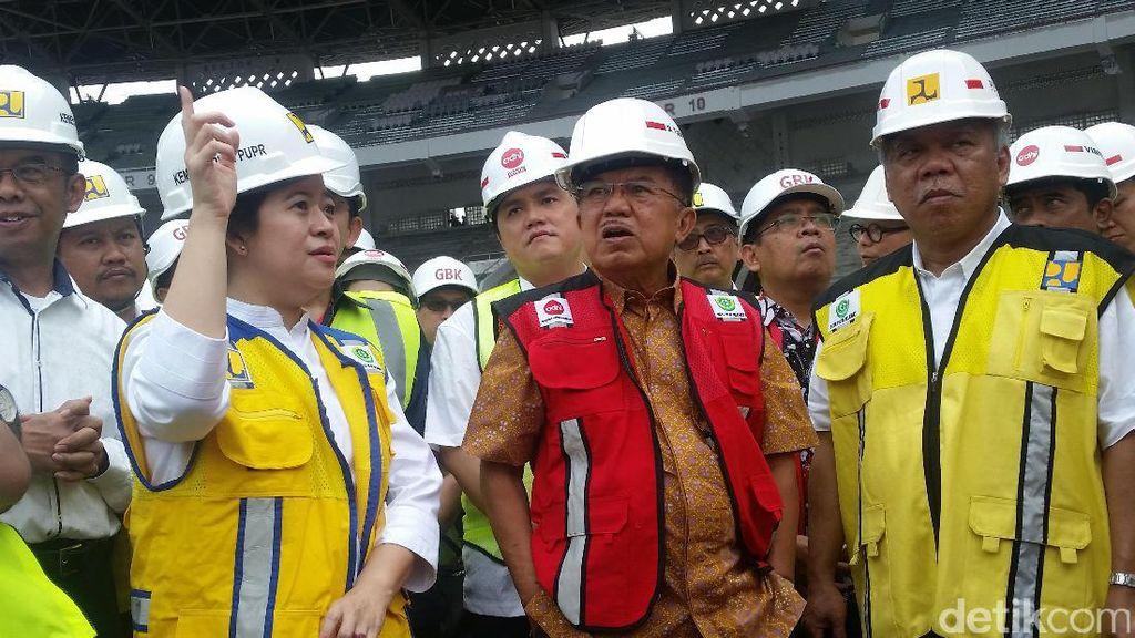 JK Minta Panitia Asian Games Jangan Sampai Kena Kasus Hukum