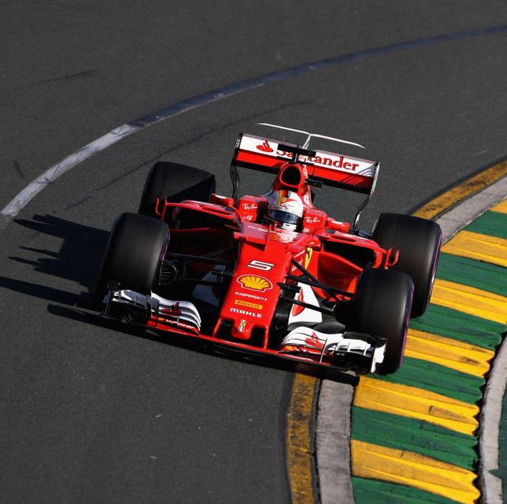 Vettel Tercepat Latihan Bebas Pertama