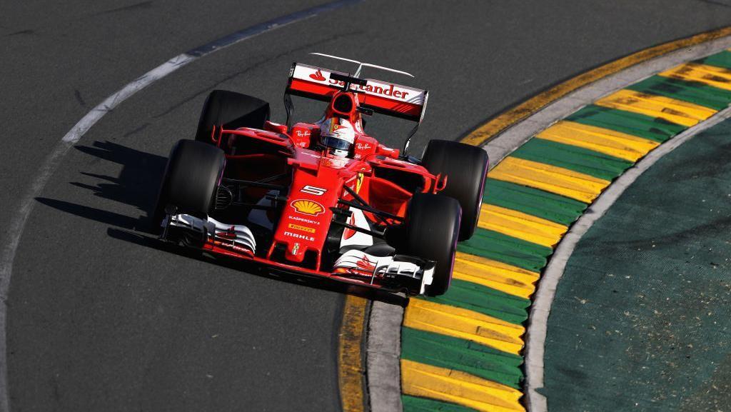 Ferrari Memulai Musim dengan Kemenangan Lewat Aksi Vettel