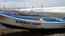 Gelombang Tinggi, Nelayan di Bantul Tidak Berani Melaut