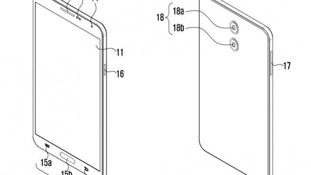 Samsung Patenkan Sistem Kamera Ganda nan Tipis