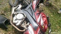 Salip Mobil, Biker di Cirebon Tewas Diseruduk Truk Tangki