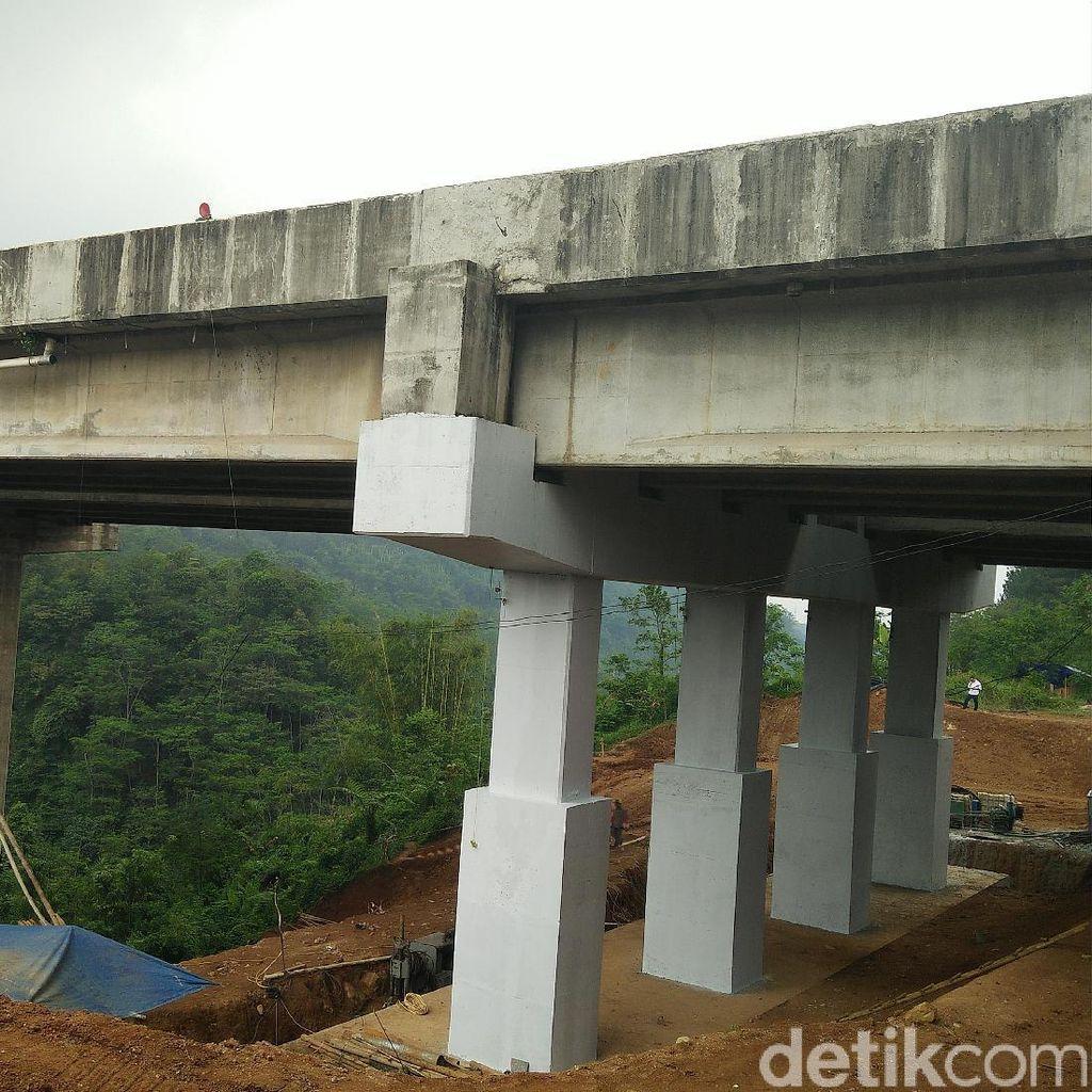 Ini yang Dikerjakan untuk Penanganan Permanen Jembatan Cisomang