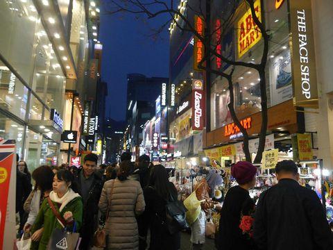 Belanja di Seoul jangan lupa berkeliling jalan-jalan ya
