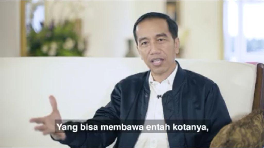 Cerita Jokowi yang Kini Lebih Suka Band Rock Dalam Negeri
