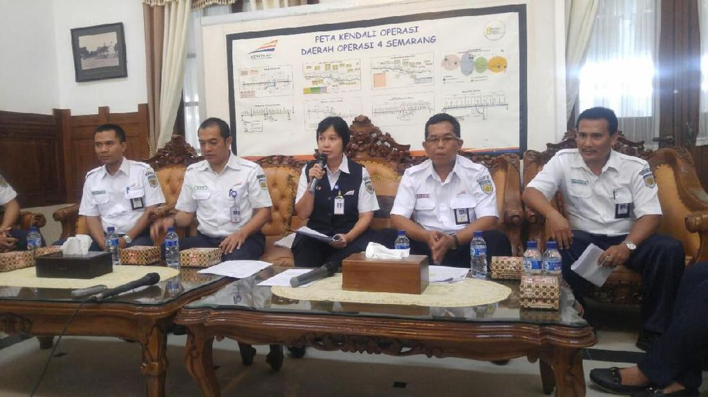 Mulai 1 April, Perjalanan KA di Semarang Berubah