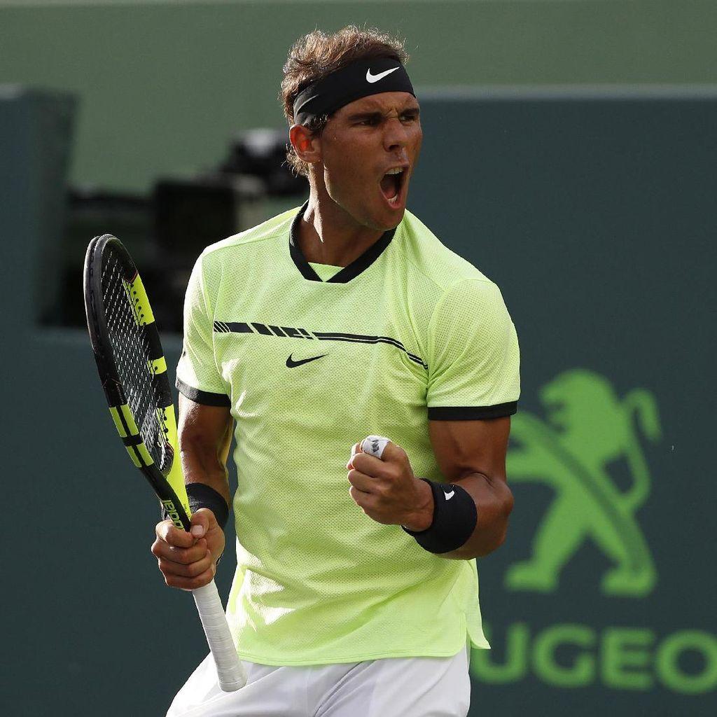 Bangkit dari Ketinggalan, Nadal Lolos ke Babak Keempat