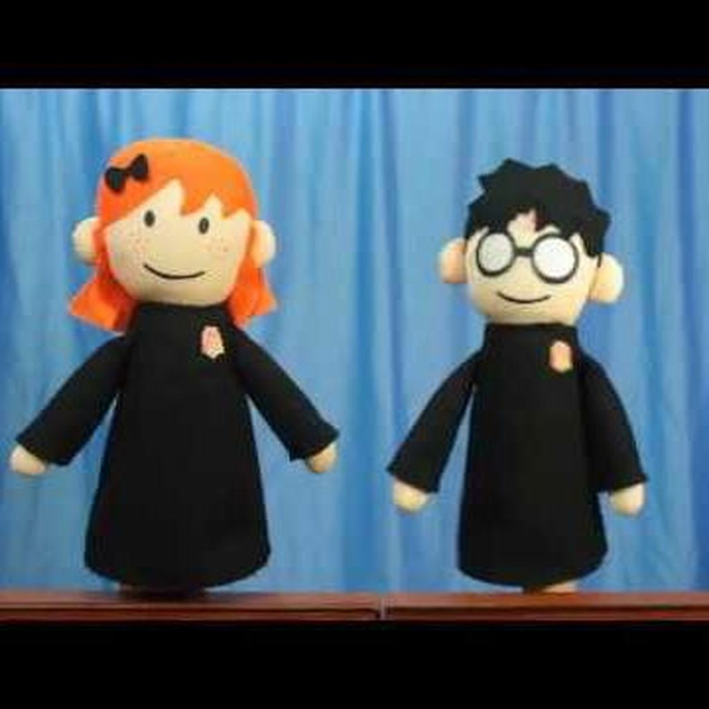 <i>Throwback</i>! Video Boneka Tangan Harry Potter yang Jadi Viral