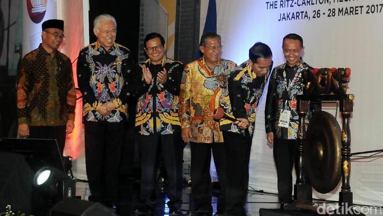Presiden Jokowi Buka Rakernas HIPMI