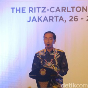 Jokowi Bangga Pertumbuhan RI di Posisi Tiga Setelah India dan China