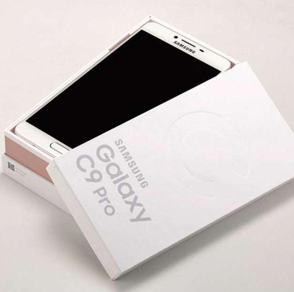 Galaxy C9 Pro RAM 6 GB Mendarat di Indonesia, Harganya?