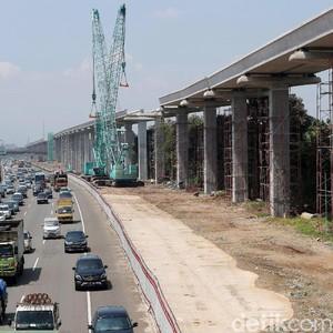 LRT Jabodebek Sedang Dibangun, Tarifnya Tak Lebih dari Rp 10.000
