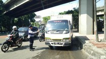 Operasi Lintas Jaya di Jakut, 30 Kendaraan Angkutan Ditilang