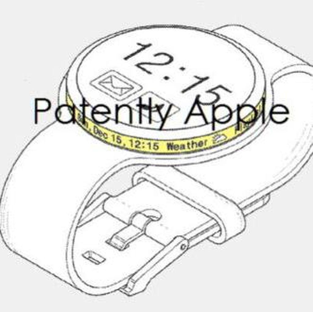 Samsung Patenkan Smartwatch dengan Layar Melingkar