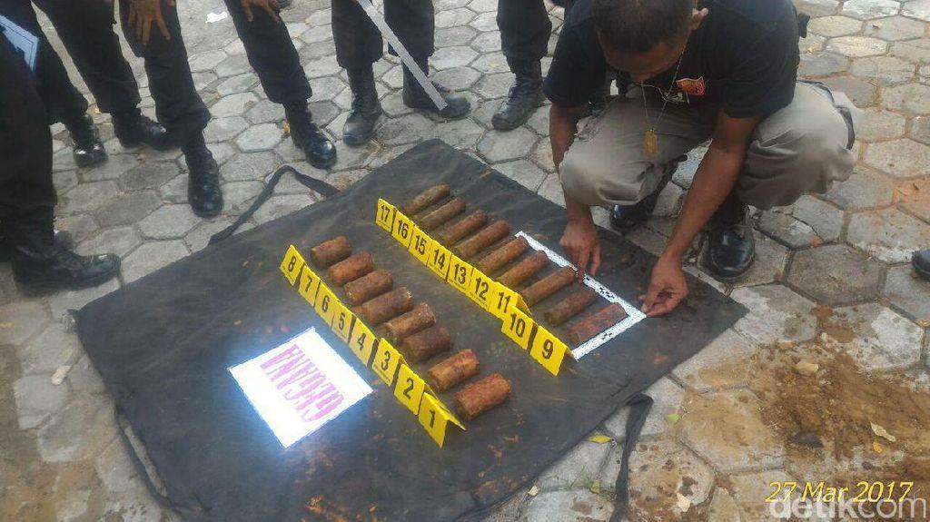 Bom Pipa Diduga Sisa Konflik Tahun 2000 Ditemukan di Ambon