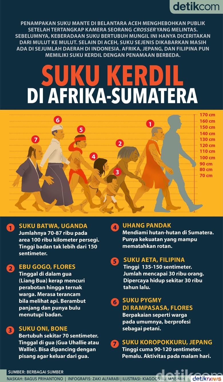 Suku Kerdil di Afrika-Sumatera