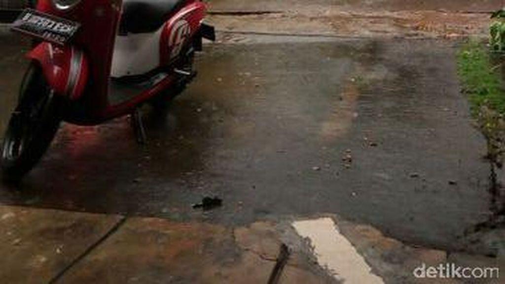 Hujan Es Turun di Sebagian Wilayah Jaksel dan Jaktim