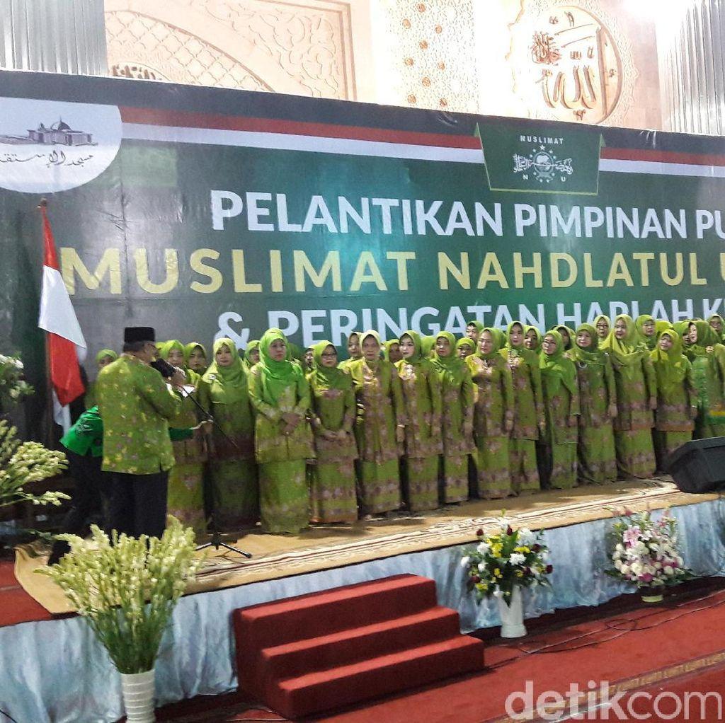 Pesan Ketum PBNU untuk Khofifah yang 4 Kali Pimpin Muslimat NU