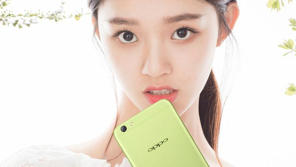 Ponsel F3 Plus Bawa Varian Hijau, Oppo?