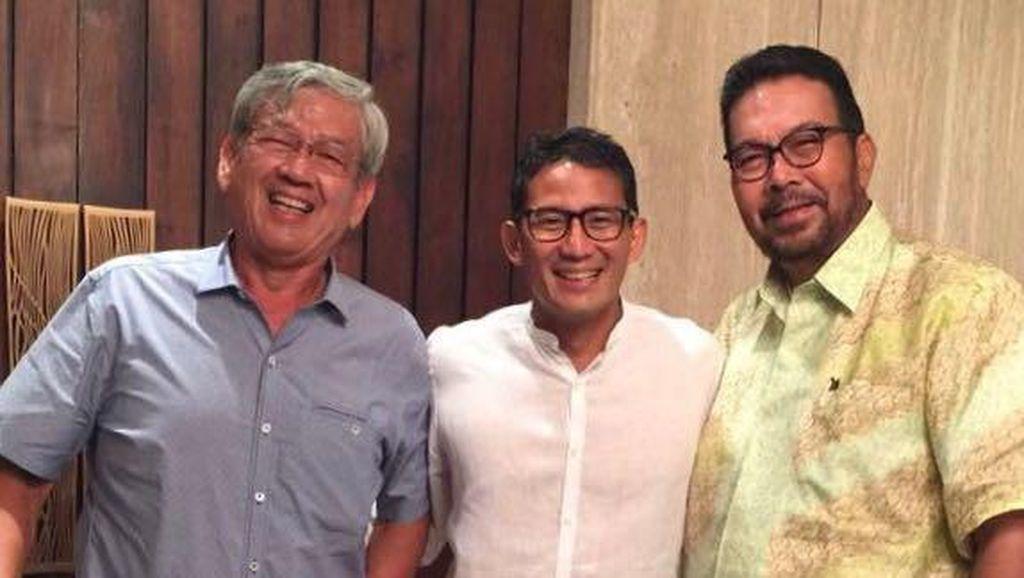 Bertemu Adik Edward Soeryadjaya, Sandiaga Dapat Dukungan Moral
