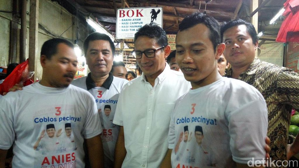 Sandiaga: Turunkan Tensi Politik, Jangan Terpecah Belah