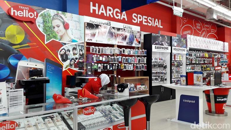 Beli Smartphone dengan Promo 5% dari Transmart Carrefour