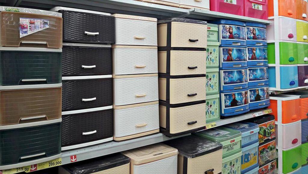 Promo Rak Plastik Harga Hemat di Plastic Fair Transmart Carrefour
