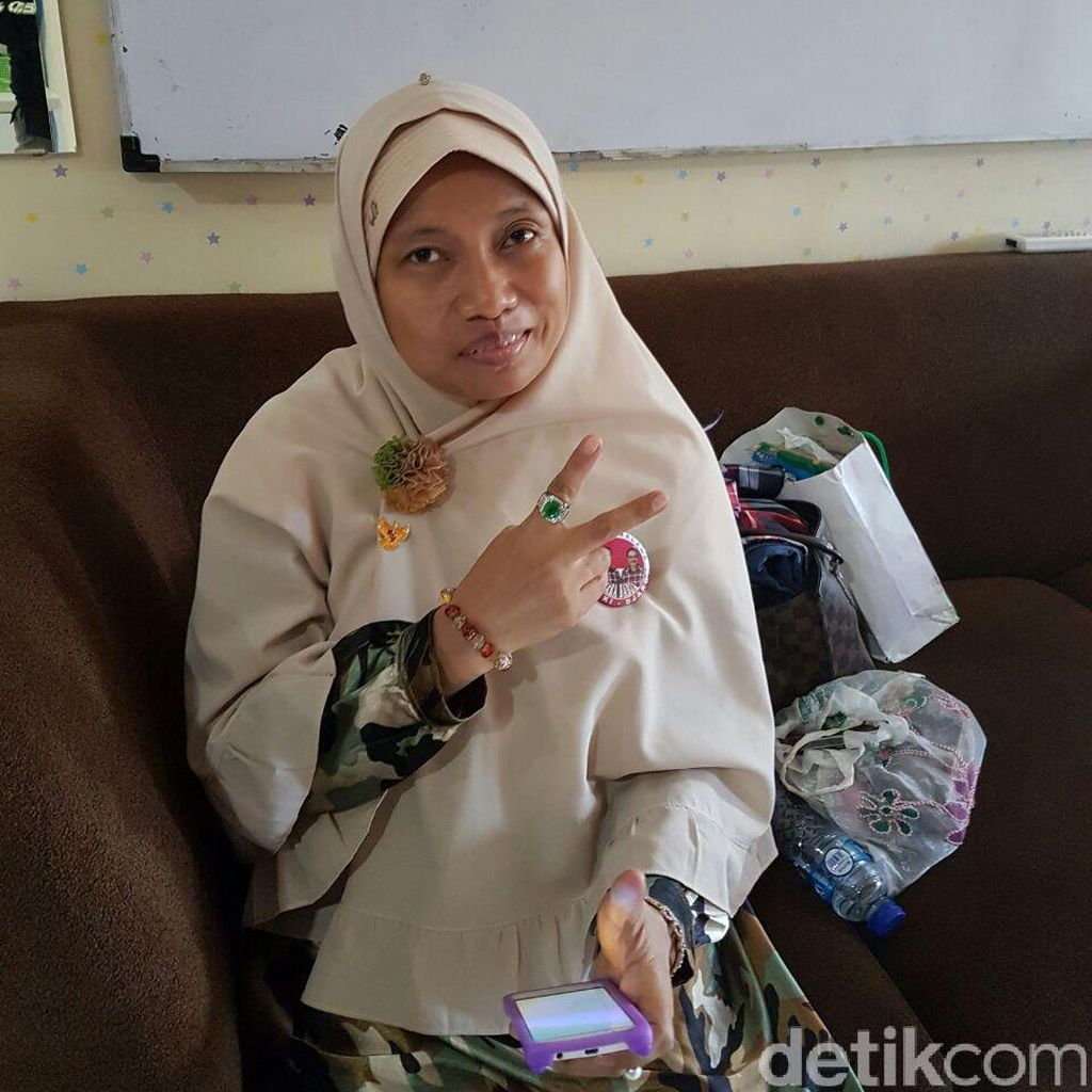 Perempuan yang Bawa Sangkur ke Sidang Ahok Pasien RSJ