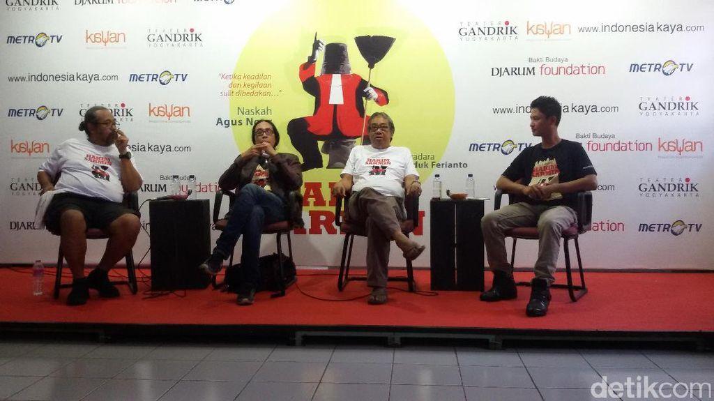 Teater Gandrik Pentaskan Hakim Sarmin di Yogyakarta