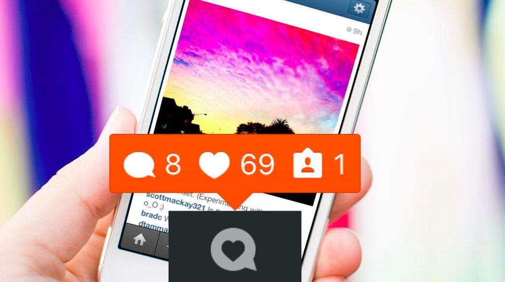 Sensasi Dapat Like di Instagram Sama Seperti Ngobat