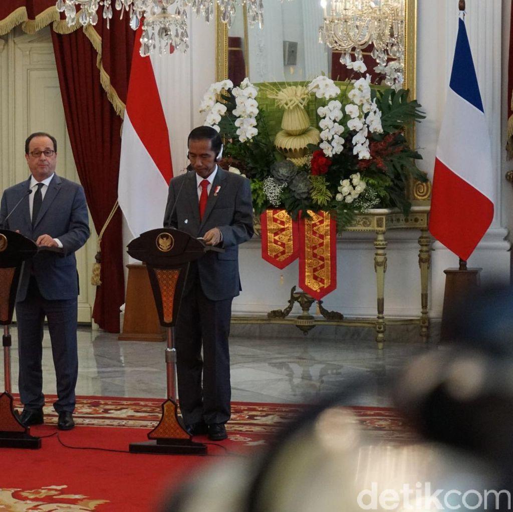 Hollande: Prancis dan Indonesia, 2 Negara Kekuatan Besar Demokrasi