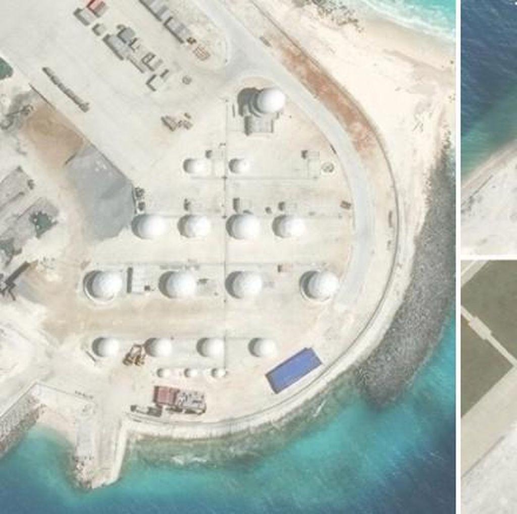 China Selesaikan Hanggar dan Radar Canggih di Laut China Selatan
