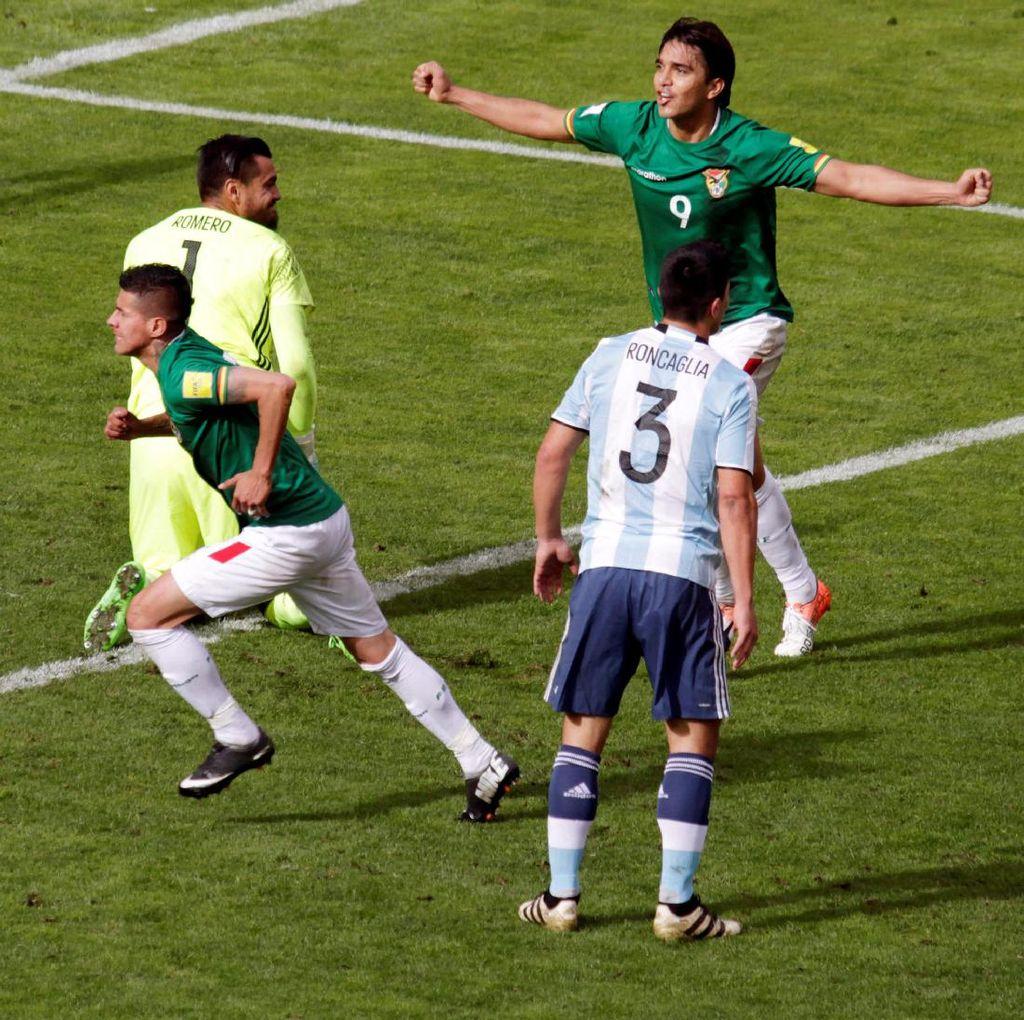 Tanpa Messi, Argentina Ditekuk Bolivia
