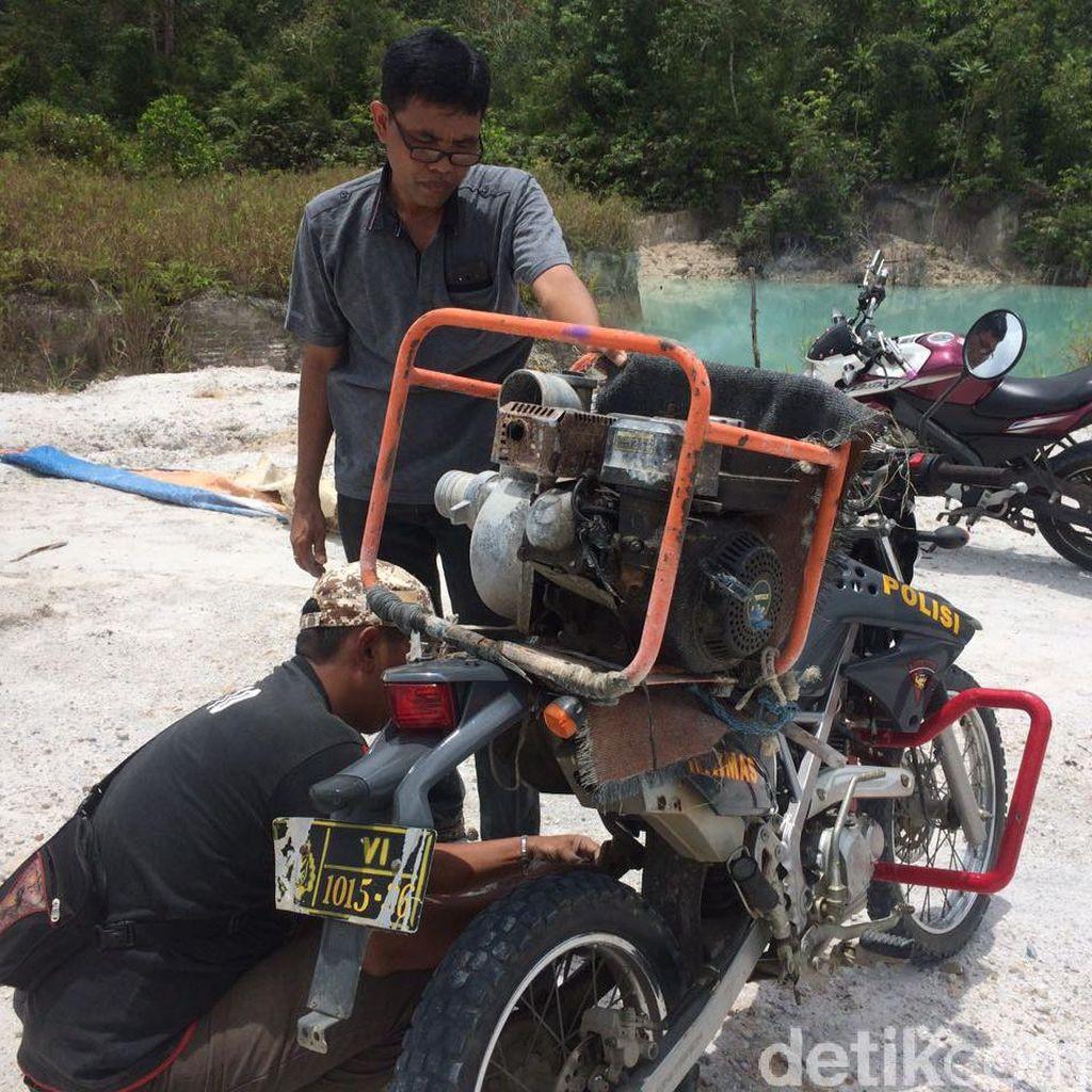 Polisi Temukan Aktivitas Penambangan Emas Ilegal di Singkawang
