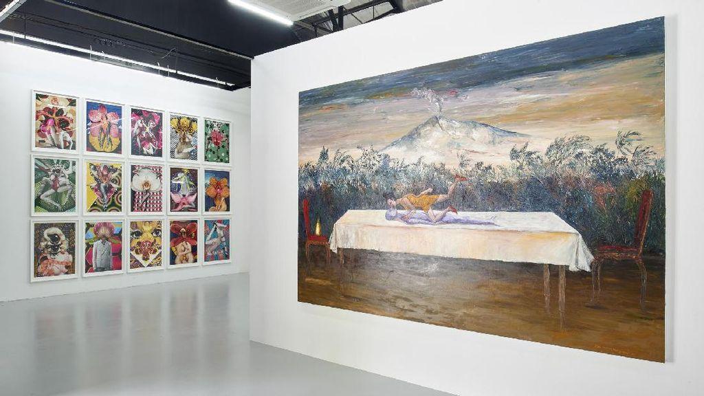Entang Wiharso Pameran Bareng Seniman 3 Negara di ARNDT Fine Art Singapura