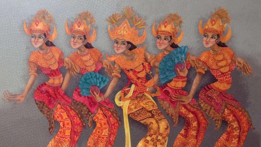Koleksi Pilihan Galeri Nasional Indonesia Dipamerkan di Lampung