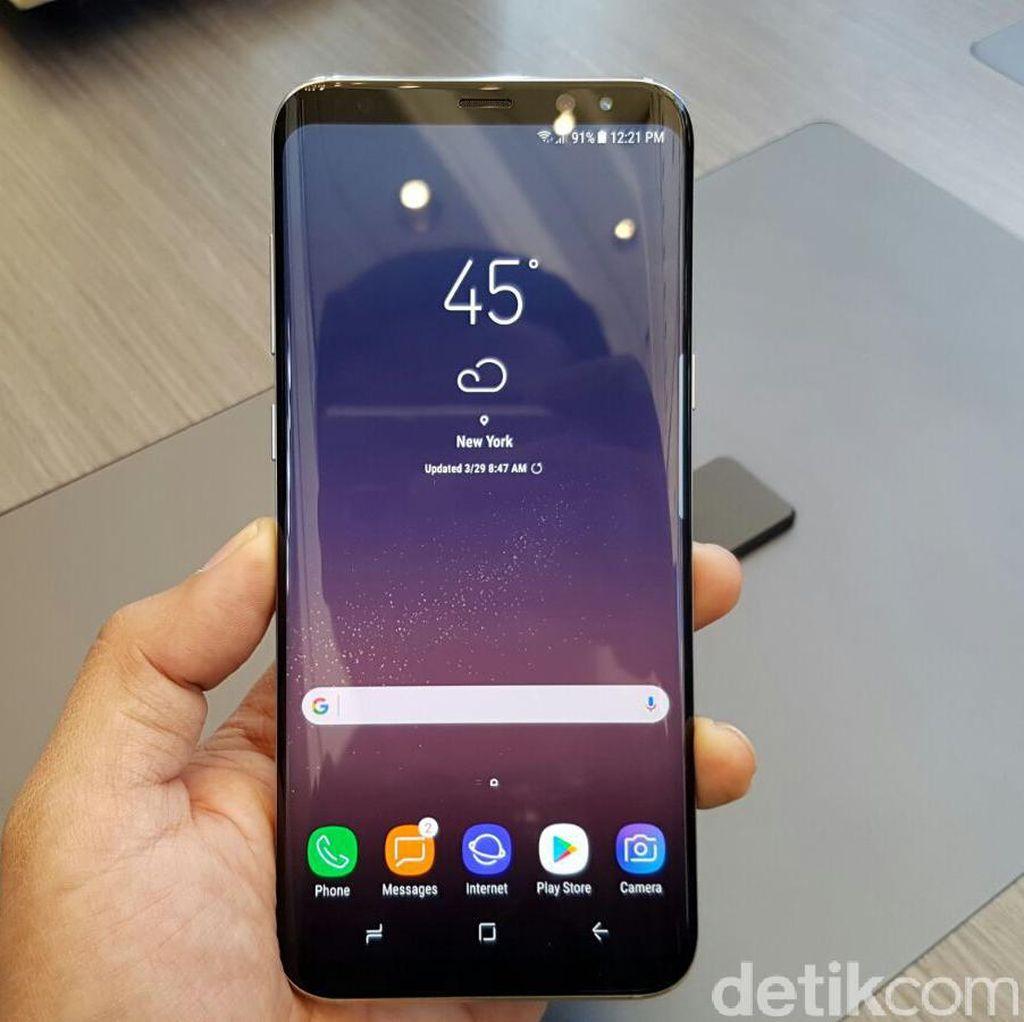 Di Balik Lenyapnya Tombol Home Fisik Galaxy S8