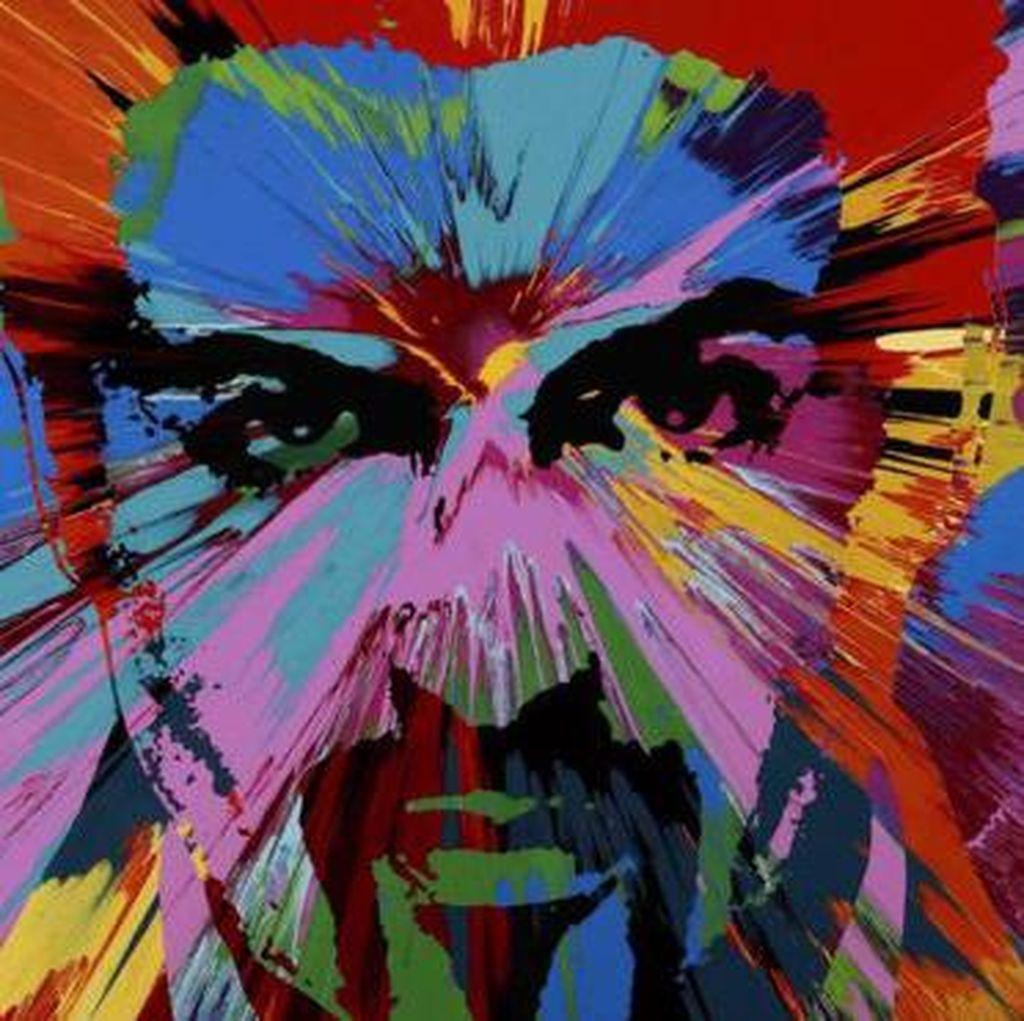 Lukisan Potret George Michael Dilelang Rp 7,7 M