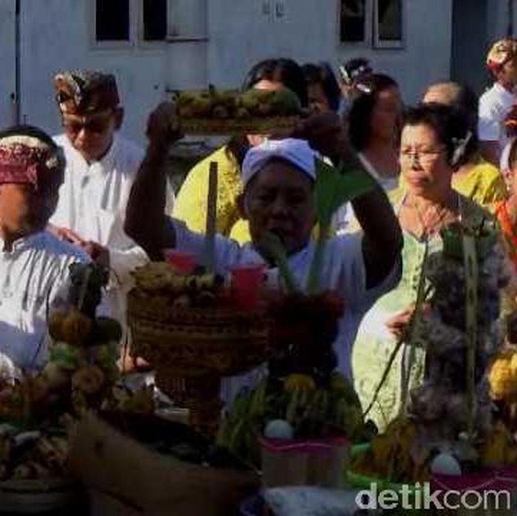 Tutup Nyepi, Umat Hindu di Jombang Gelar Ngembak Geni