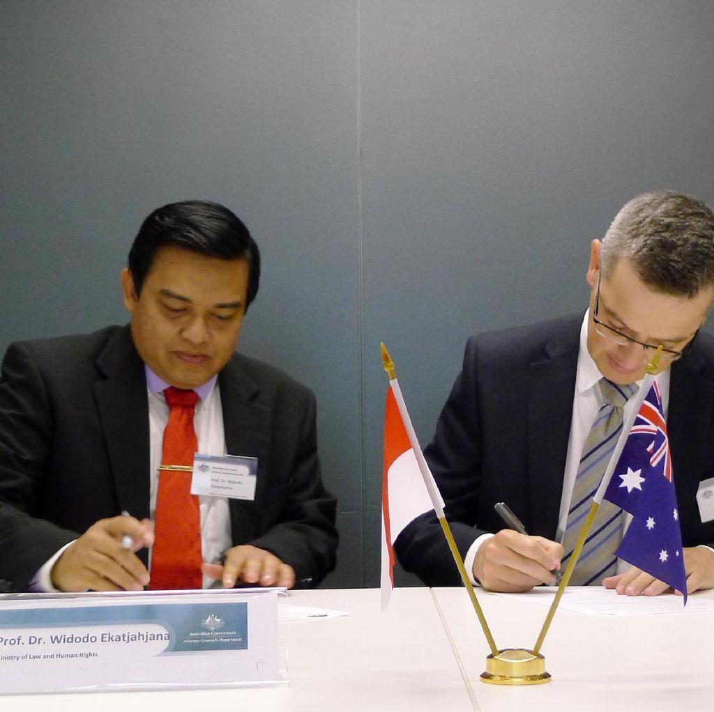 Indonesia-Australia Perpanjang Kerja Sama di Bidang Legal Drafting