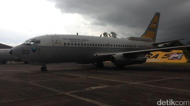 Melihat Alutsista TNI AU di Lanud Makassar