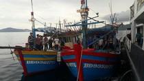 Polisi Tangkap 2 Kapal Asing Asal Vietnam, 1 ABK Terjun ke Laut
