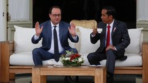 Jokowi dan Presiden Prancis Bahas Kemerdekaan Palestina