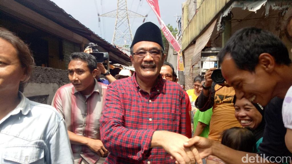 Djarot Janji Bangun Masjid Raya HOS Cokroaminoto di Jaktim