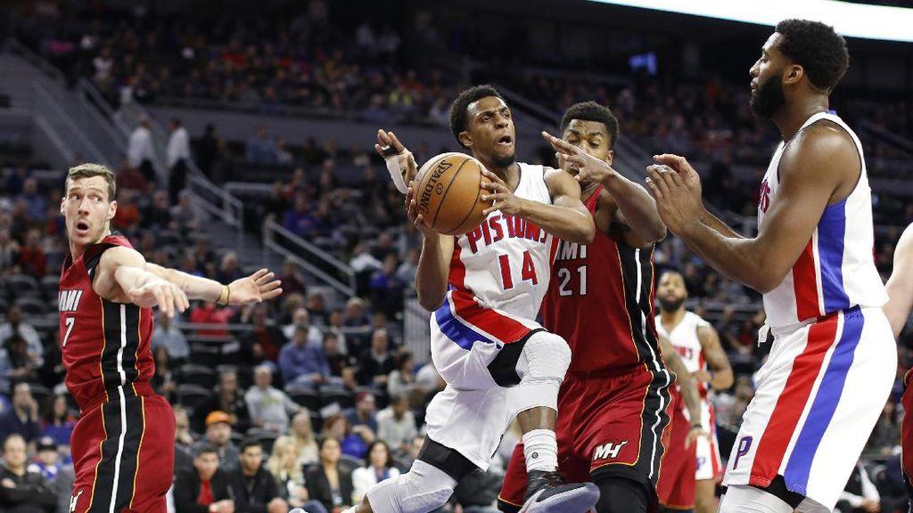 Heat Kian Dekat dengan Playoff Usai Kalahkan Pistons